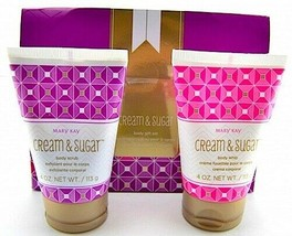 Mary Kay Cream and Sugar Body Gift Set Limited Edition NEW  - $10.36