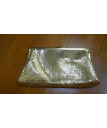 Whiting & Davis Gold Mesh Purse/Clutch Vintage - $50.00