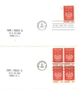 Poland's Millennium First Day Covers July 30, 1966 Washington, DC - $2.00