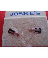 Sterling Silver Joske's Guitar Pierced Earrings  - $7.00