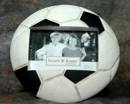 Soccor Ball Picture Frame 3.5x5 - $10.95