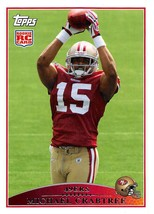 2009 Topps #420 Michael Crabtree RC Rookie Card > San Francisco 49ers - $0.99