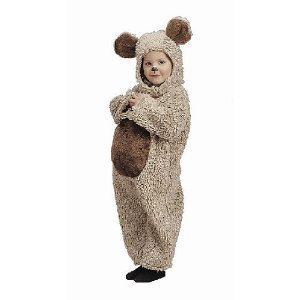 Oatmeal Bear Costume 0-6 months
