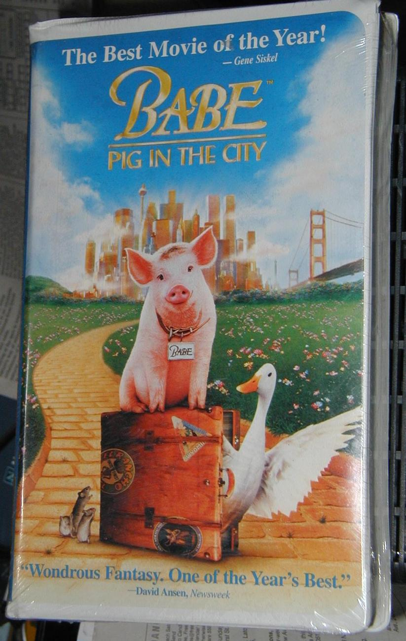 Babe Pig in the City - VHS