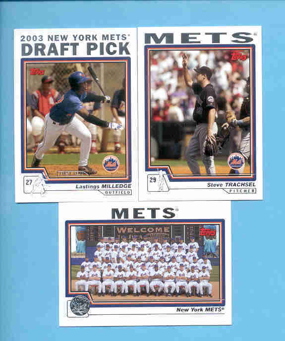 2004 Topps New York Mets Baseball Team Set