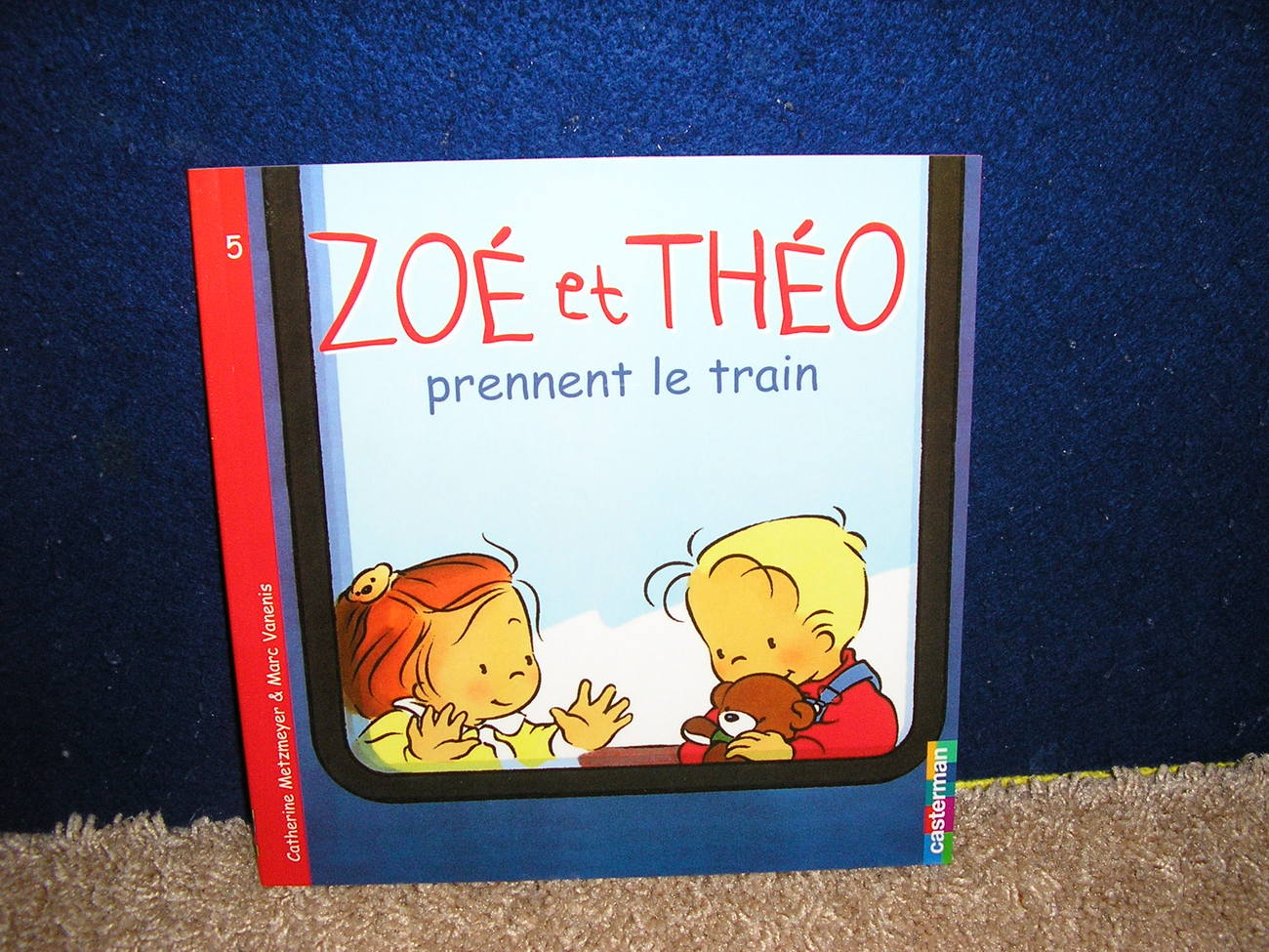 Zoe et Theo prennent le train by Catherine Metzmeyer