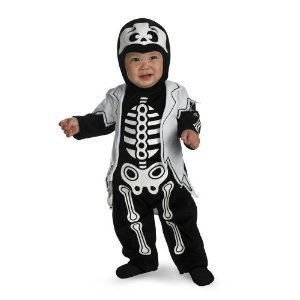 Skeleton Costume 12-18 months