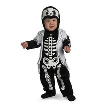 Skeleton Costume 12-18 months - £16.11 GBP