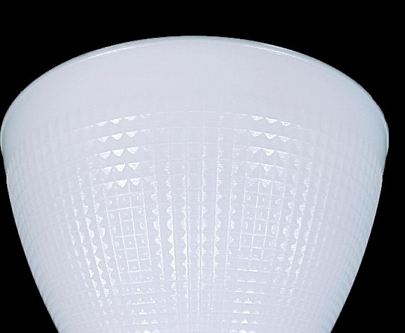 8quot floor table lamp reflector shade milk white corning for 8 inch glass floor lamp reflector shade glass