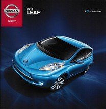 2013 Nissan LEAF ELECTRIC car sales brochure catalog US 13 - $8.00