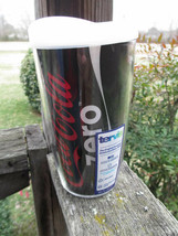 Coca-Cola Zero 16 oz Coke Zero Tervis Tumbler Cup with White Lid Brand New  - $18.76