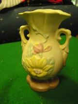 "HULL Pottery RARE......Minature MAGNOLIA  Matte VASE ...4 3/4""...SALE - $21.04"