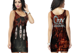 Ozzy Osbourne Womens Bodycon Sleeveless Short Mini Dress - $17.99+