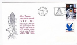 82nd SPACE SHUTTLE LAUNCH STS-82 KENNEDY SPACE CENTER FLORIDA 2/11/1997 - $1.98