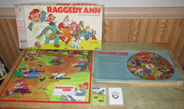 Vintage 1974 Milton Bradley Raggedy Ann Little Folks Board Game - Complete - $8.80
