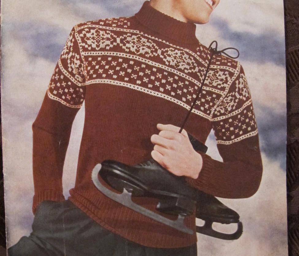 Vintage Sirdar Knitting Patterns MENS and 50 similar items