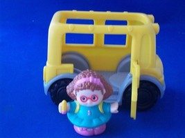 Fisher Price Little People Bus with Maggie - $13.50