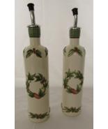 Set of 2 Tuscan Ceramic Oil and Vinegar Bottles... - $15.00