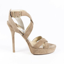 Jimmy Choo Vamp 120mm Suede Platform Sandals SZ 36 - $135.00