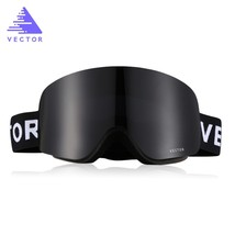 vector Outdoor Ski Goggles Double-la color BLACK size  - $52.15