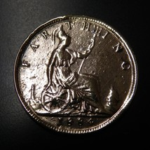 Vintage  Victorian Farthing Coin - $15.00