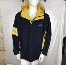 Nautica Jacket Mens Large L 90's Vintage Heavyweight - $37.97