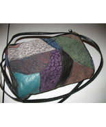 Cute Hippie Patchwork Leather Purse Handbag - $14.00