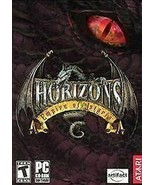 Horizons: Empires of Istaria, 2 LN Condition PC Game CD-ROMs with Manual - $3.95