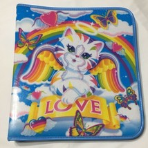 Vintage Lisa Frank 3 Ring Binder Kitten Cat Angel Love Wings Butterflies... - $58.04