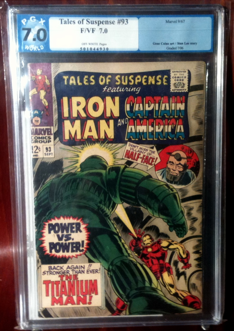 Tales of Suspense (1958) # 93 PGX Graded 7.0 FINE+