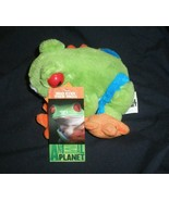 Red Eyed Tree Frog plush with real sounds Animal Planet Rain - $14.95