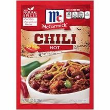 McCormick Hot Chili Seasoning Mix, 1.25 oz - $4.67