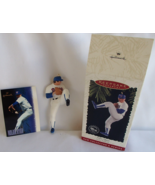 MLB Nolan Ryan At The Ballpark Ornament + Trading Card Hallmark Collecto... - $14.99