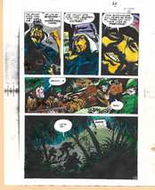1 of a kind original 1975 DC Comics Our Army at War 283 color guide art ... - $29.99