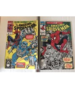 Amazing Spider-Man 350 & 351 Marvel Comic Book Lot 1991 VF+ Condition - $4.49