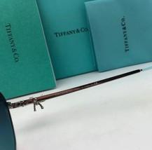 TIFFANY & CO. Sunglasses TF 3052-B 6105/3C Gold & Burgundy Aviator w/ Gr... - $499.98