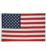 3' x 5' FT USA US U.S. American Flag Polyester Stars Brass Grommets QNTY... - $6.68