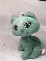 "Vintage Prissy Kitties Blue Cat Plush Stuffed Animal Toy 9"" Tall - $6.92"