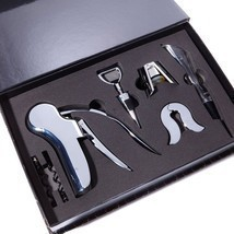 Wolfgang Puck 7-piece Wine Tool Set in Gift Box - £30.97 GBP