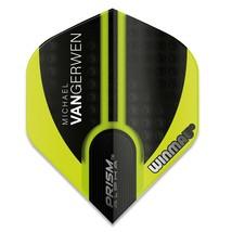 Winmau Prism Alpha MVG Green and Black Standard Dart Flights - $1.95