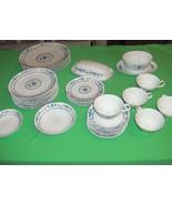 29 Pc Set Vintage Noritake China Country Side Cook 'N Serve #6899 Hard T... - $128.69