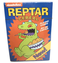 Rugrats Reptar Cereal Playing Cards Poker Nickelodeon Nostalgia SHIPS AS... - $19.34