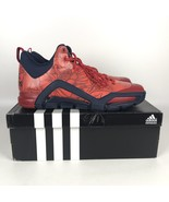 Adidas SM Crazyquick 3 Vets Day Basketball Shoes size 15 Red Navy Blue A... - $99.00