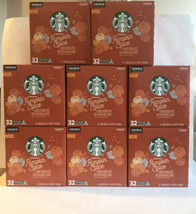 7 Starbucks Pumpkin Spice Limited Edition Coffee 256 Pods Keurig Exp Mar... - $144.93