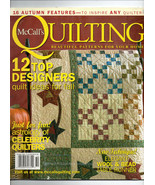 Oct 2004/McCall's Quilting/Preowned Craft Magazine - $3.99