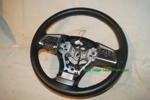 Subaru Legacy Steering Wheel W/Radio Controls & Paddle Shifter 2010