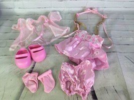 """2005 Cabbage Patch Kids Fashion Frenzy Pink Dress Outfit for 16"""" CPK Doll & More - $49.49"""