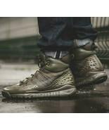 NEW Nike LUPINEK FLYKNIT men USszs: 9.5; 11; 12 winter run shoe KHAKI 86... - $99.99