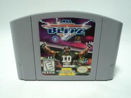 NFL Blitz (Nintendo 64, 1997) Cartridge Only, N64 - $16.33