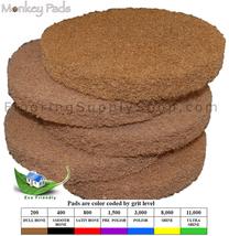 Monkey Eco Friendly Stone Polishing Pads 8 Inch Set of 5  - $149.95